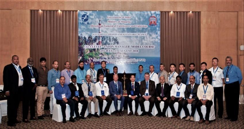 IALA Level 1 AtoN Manager Course Inauguration